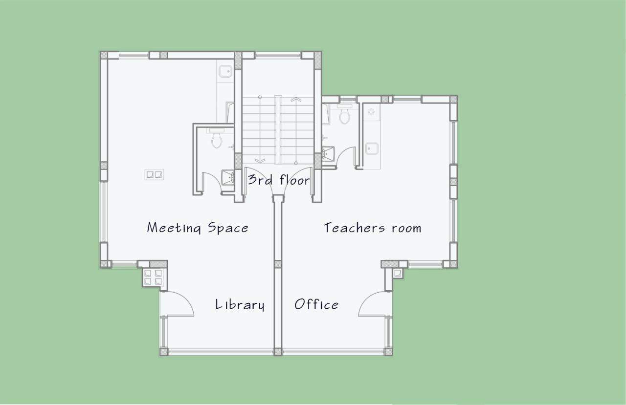 Floor plan top floor