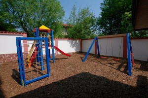 Slides and climbing structures